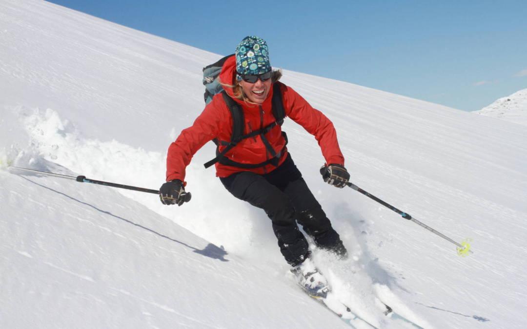 Skidbestigning/ rondonétur i Snasahögarna
